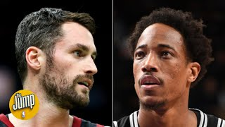 Kevin Love or DeMar DeRozan: Who is more likely to be traded? | The Jump
