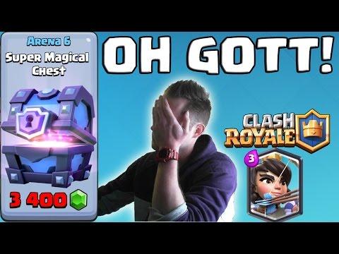 LEGENDÄRE KARTEN! SUPER MAGISCHE TRUHE! || CLASH ROYALE [Android iOS PC]