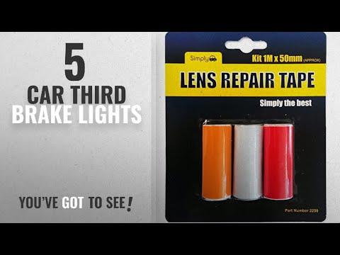 top-10-car-third-brake-lights-[2018]:-simply-2250-lens-repair-tape,-red/-clear/-amber