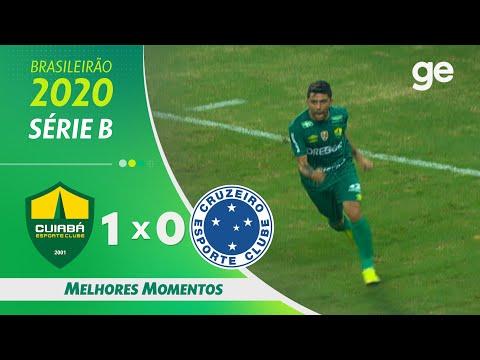 Cuiaba Esporte Cruzeiro Goals And Highlights