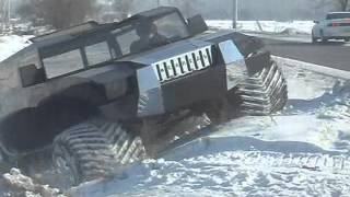 новый вездеход МЕДВЕДЬ-2 зима.wmv(Производственный центр
