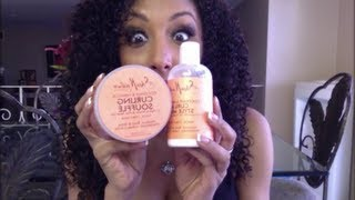 The BEST hair products for CURLY HAIR! Shea Moisture! | BiancaReneeToday thumbnail
