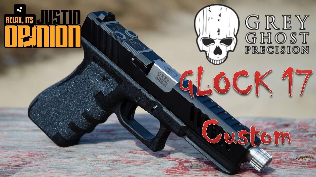 Grey Ghost Custom Glock 17 Slide