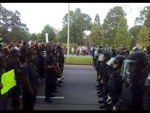 The New Black Panther Party in Lake, Mississippi confronting law enforcement over lynchings