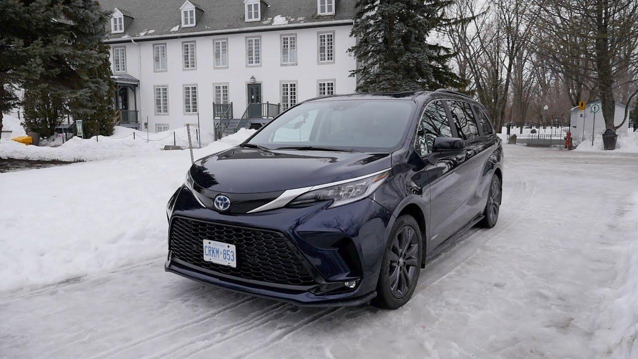 KILOWATT-HEURE | Essai de la Toyota Sienna 2021 [VIDÉO]