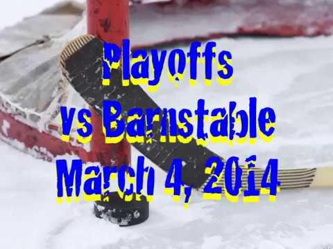 Acton Boxborough Varsity Girls Hockey vs Barnstable 3/4/14