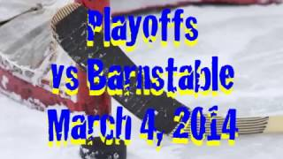 Acton Boxborough Varsity Girls Hockey vs Barnstable 3/4/14