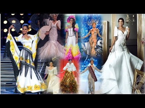 Miss Philippines Universe NATIONAL COSTUMES  2010-2017