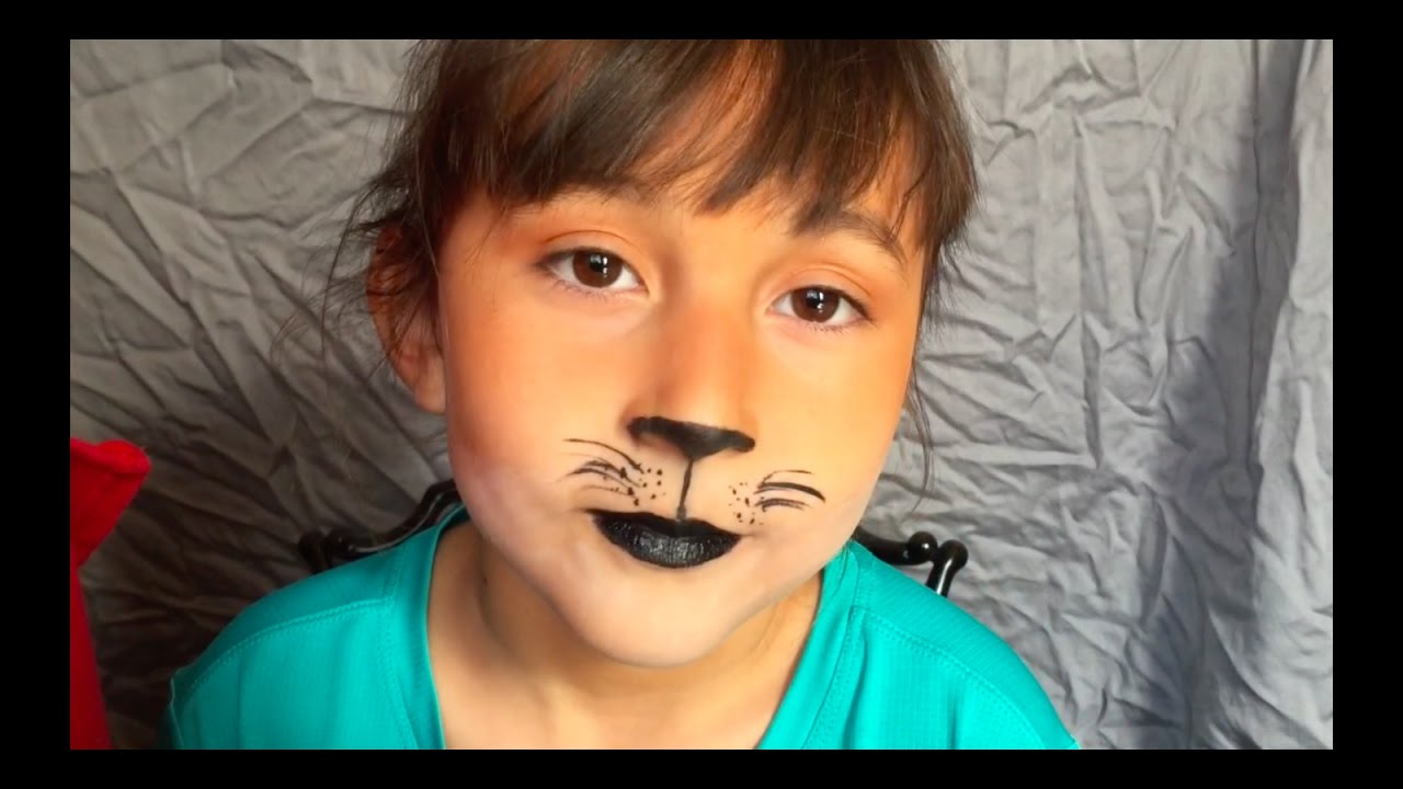 Simple Fox Makeupcostume Tutorial For Halloween Youtube - Fox-makeup