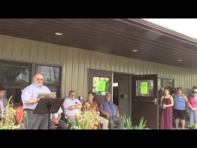 Mooers Free Library Dedication  9-15-18
