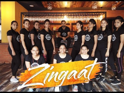 Zingaat Hindi   Dhadak   Sairat   zumba   Dance   ajay - Atul   chandresh patel