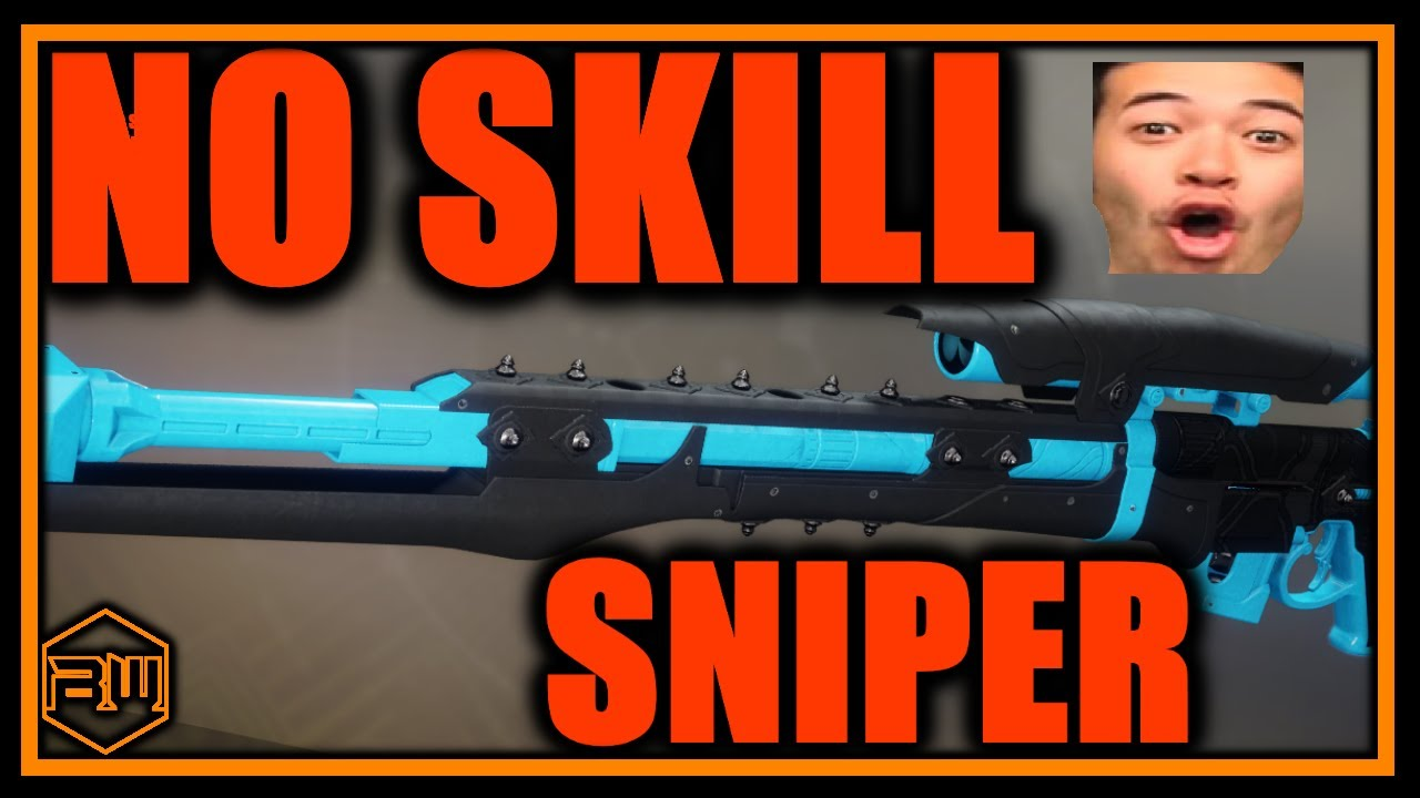 This GOD Roll Sniper Requires ZERO SKILL SERIOUSLY!!! *No Aimbot Needed*