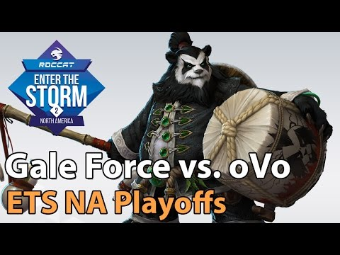 ► Heroes of the Storm Pro Gameplay: Gale Force vs. OVO - ETS NA Playoffs