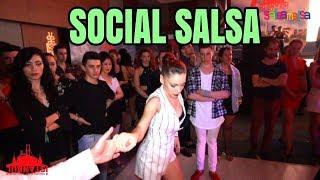 JESSICA PATELLA & ERKIN KULA (Social Dance Salsa)