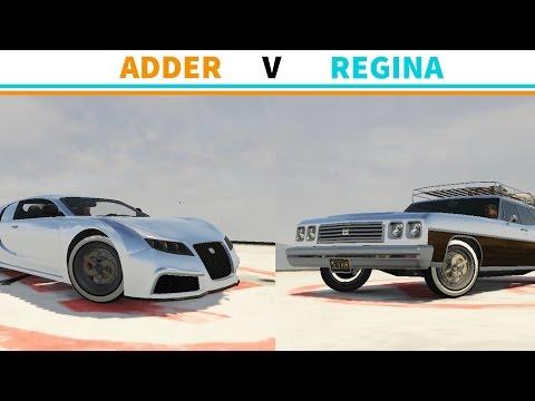 GTA V PC - Who Da Real MVP? - Adder V Regina