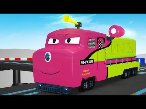 Thomas The Train -Toy Cartoon -Toy Factory Train - Videos for Children - Cartoon Cartoon - Trains