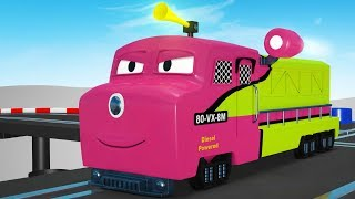 Thomas The Train -Toy Cartoon -Toy Factory Train - Videos for Children - Cartoon Cartoon - Trains