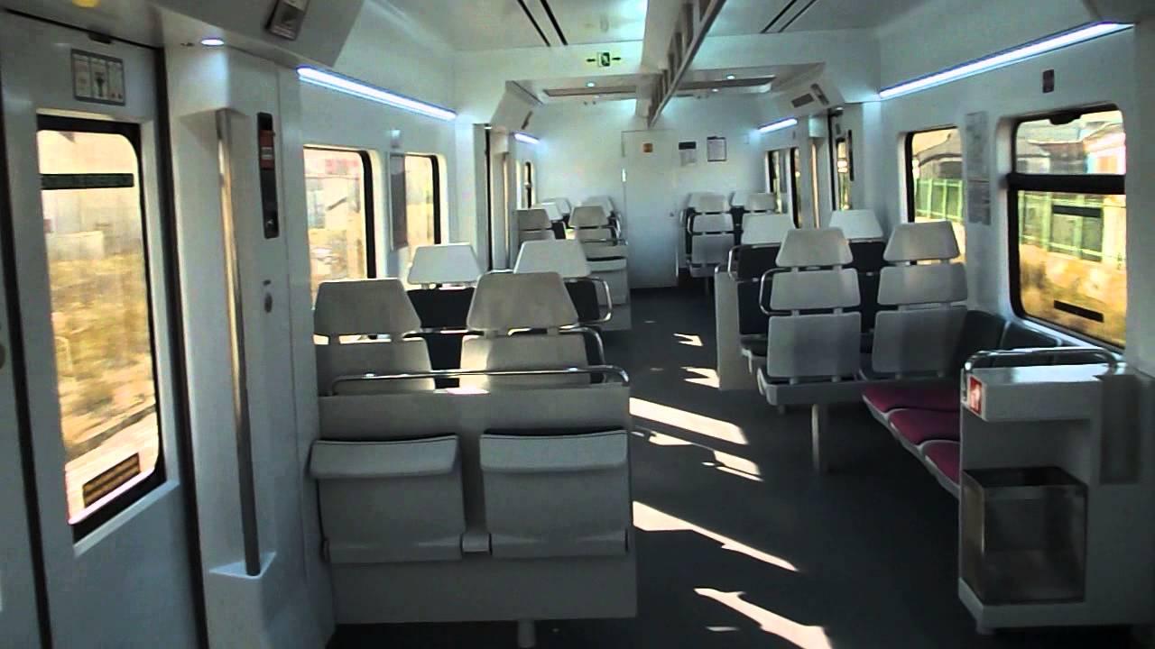 Renfe Cercanias - 446 reformada con nuevo interior - YouTube