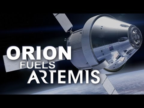 Orion Fuels Artemis