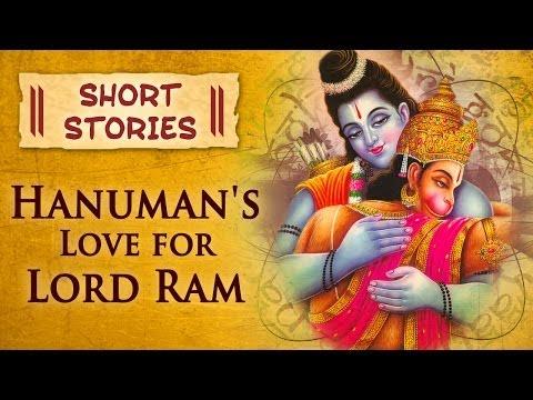 Hanuman's Love For Lord Ram - Hindu Mythological Stories