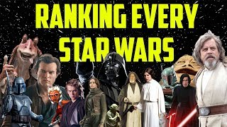 Every Star Wars Movie Ranked From Worst to First
