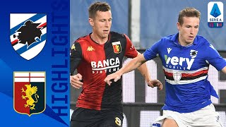 The points are shared in derby della lanterna after genoa's scamacca equaled out jankto's early strike for sampdoria | serie a timthis is official ch...