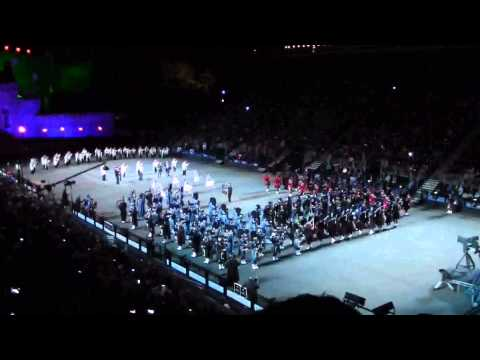 THE ROYAL EDINBURGH MILITARY TATTOO 2015