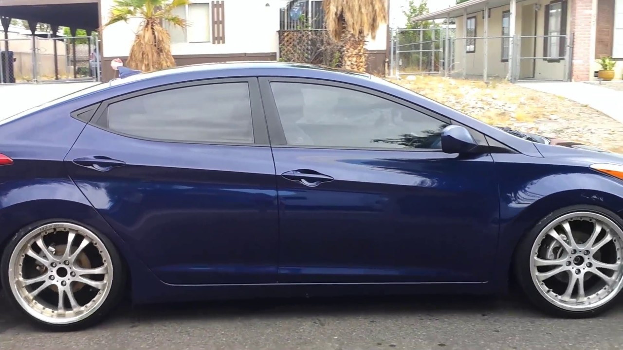 Lowered 2011 Elantra Movie Youtube