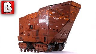 Ultimate LEGO Sandcrawler!!! 12,000+ Parts! Full Review