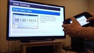 Wii U System Setup
