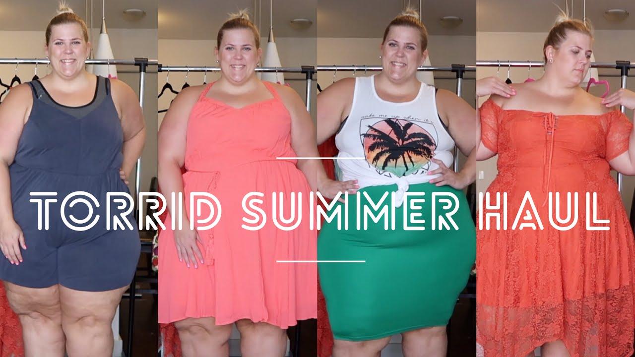374368951332ab Torrid Plus Size Summer Haul + Try On - YouTube