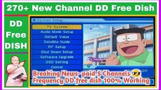 Neue Bezahlten Dollar Cartoon-Kanäle DD Kostenlosen Teller Nick Trick Arbeiten neue Sendefrequenz Für DD-Freie Schale
