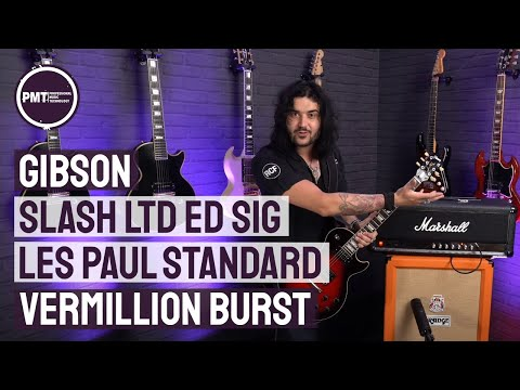 Gibson Slash Les Paul Vermillion Burst – Limited Edition Gibson Slash Signature Les Paul Guitar