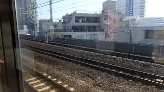 JR東日本E217系MT68 側面展望 東京→市川(総武線快速) クラY-8編成