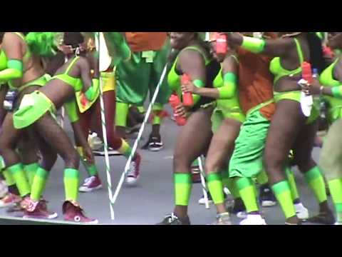 Antigua Carnival Masqueraders on Stage MMXII