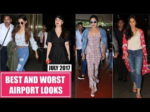Deepika Padukone, Kareena Kapoor, Katrina Kaif : Best and Worst Dressed Airport Looks July 2017 Mp3