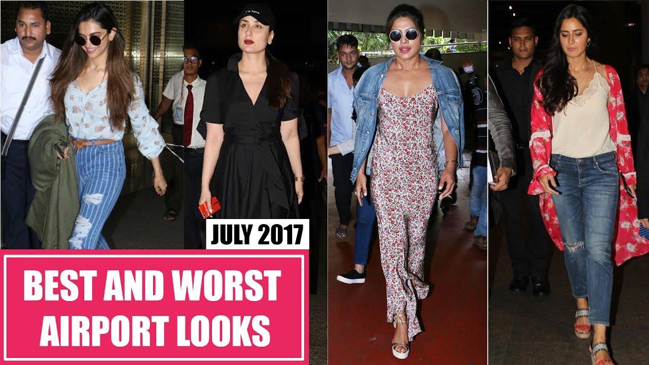 Deepika Padukone, Kareena Kapoor, Katrina Kaif : Best and Worst Dressed Airport Looks July 2017