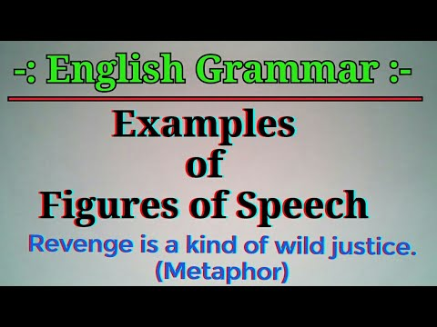 English Grammar Examples Of Figures Of Speech In Hindienglish