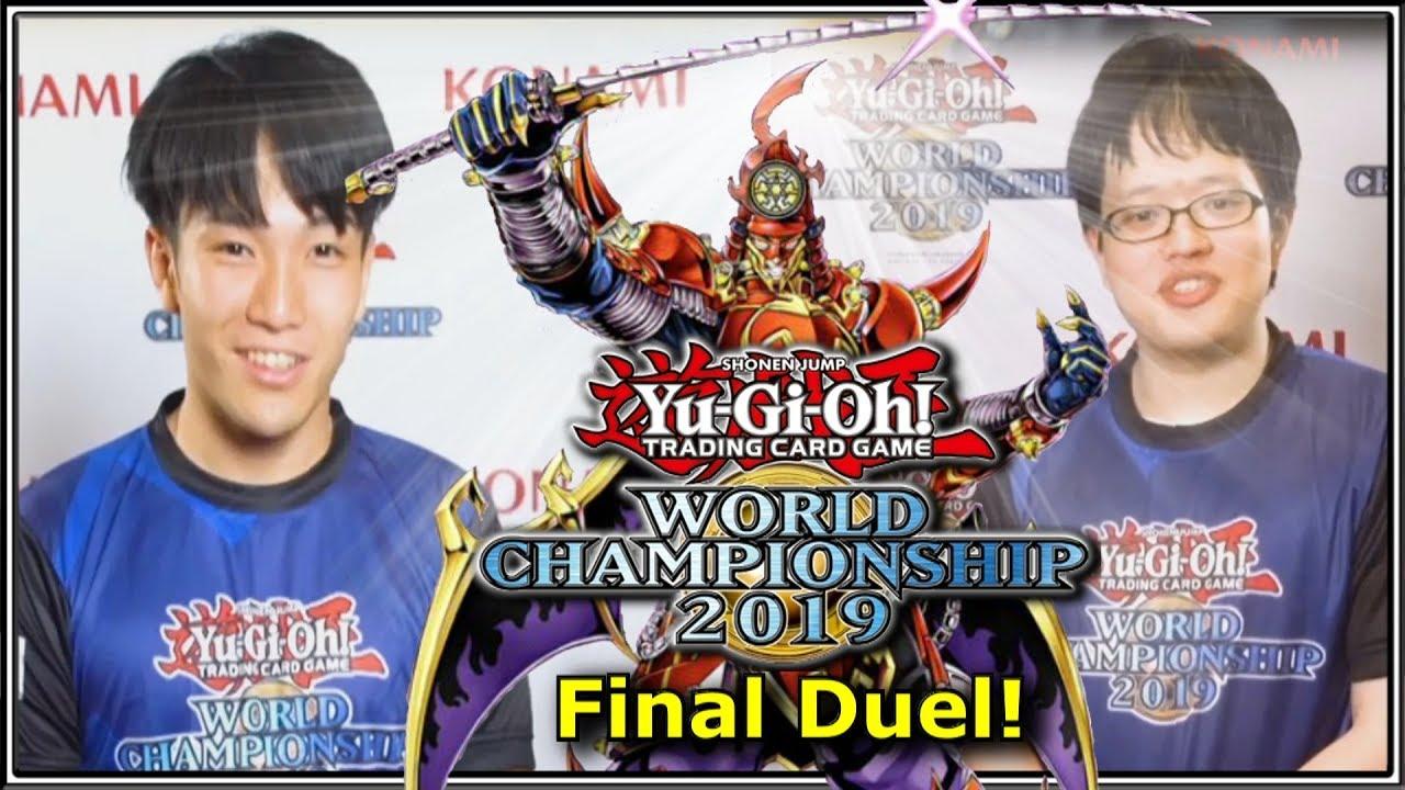 2019 Yu-Gi-Oh! Duel Links World Championship Final Takahiro Hamada V Shuhei  Kobayashi | YTDan