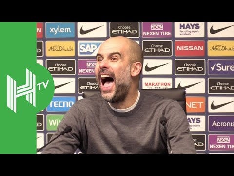 Pep Guardiola's funniest Manchester City moments!