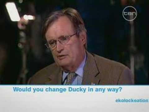 Channel 10 interview David McCallum