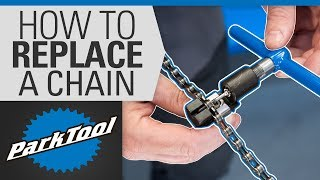 How to Replace a Chain on a Bike - Sizing & Installation