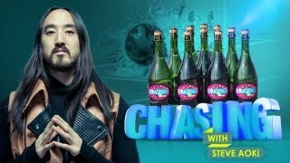 CHAMPAGNE BOWLING CHALLENGE (Chasing with Steve Aoki #5)