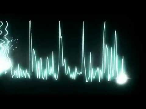 Piano violin hip hop beat visualization mode