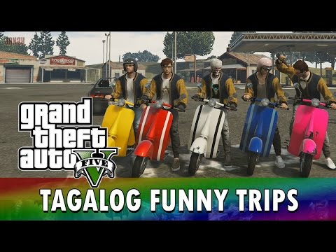GTA 5 Online [PS4] Tagalog Funny Trips: Damn Daniel, Suicide Squad, Faggio Day , The Last Trip