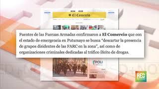 RED+   Perú declara estado de excepción en frontera con Colombia durante 60 días