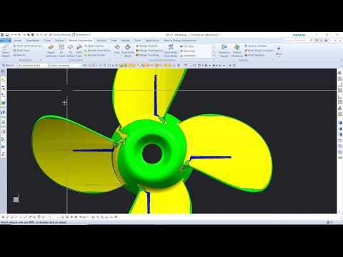 Repeat scan to 3d | reverse engineering of fan blade using