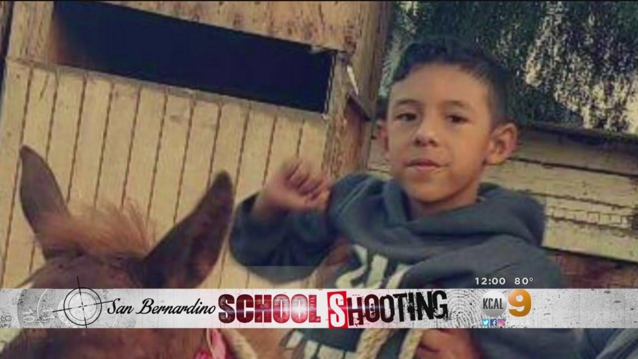 San Bernardino Community Mourns Shooting Deaths Of Teacher, Student