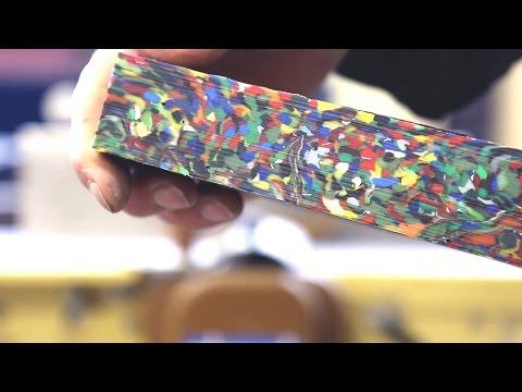Precious Plastic - create things from plastic