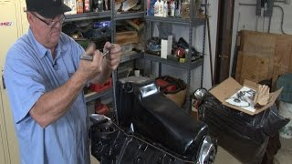 Robert Dana teaches you how to install a oil pan properly so it will not leak.